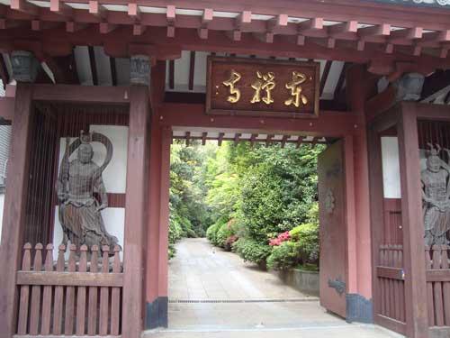 Magical temple garden in Takanawa