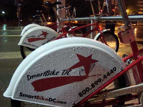"Washington DC ""smart bike"" sharing"