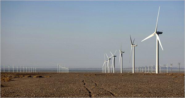 China's giant wind farm