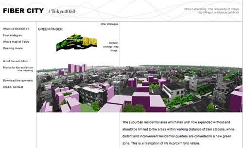 Green Fingers Fiber City: Tokyo 2050