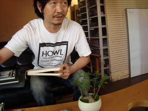 Meeting Kobayashi Kenji (小林健二) at Sinajina (品品)