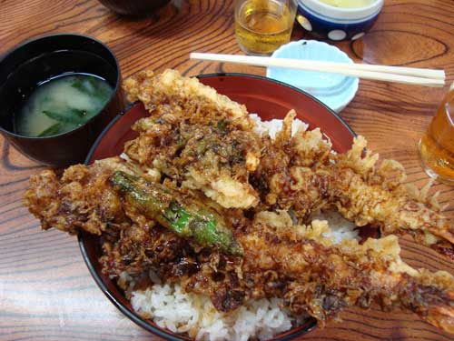 Tendon lunch, Shibamata