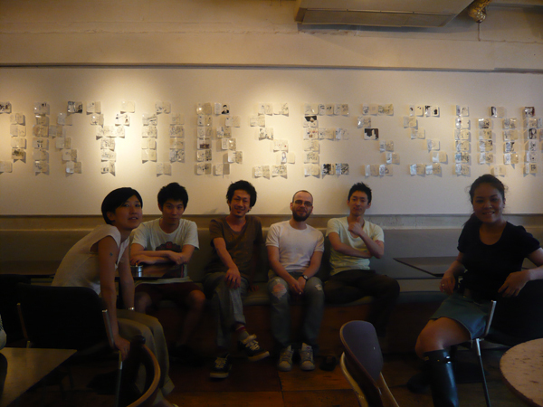 """Pierre Alex's """"tokyobsession"""" show at dish organic cafe"""