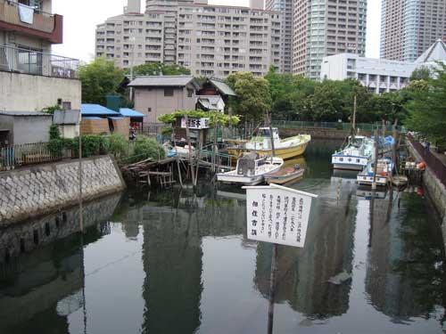 Tsukudajima canal