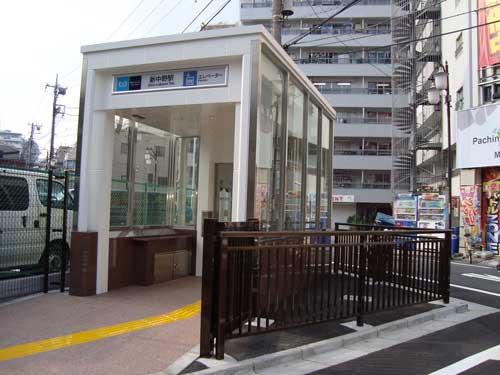 Dead space, Shin Nakano, Tokyo Metro