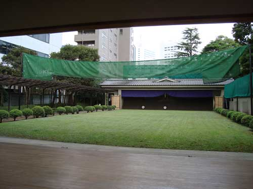Archery at Kyu Shiba Rikyu Garden