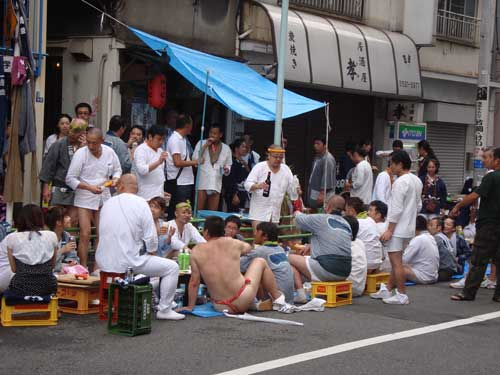 Omatsuri in Tsukishima