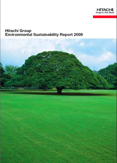 Hitachi 2009 Environmental Sustainability Report 2009