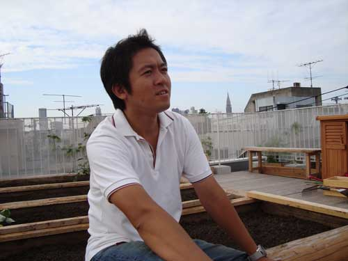 Iimura Kazuki (飯村一樹) at Omotesando Farm