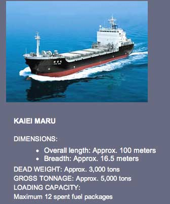 japan's nuclear ship transportation