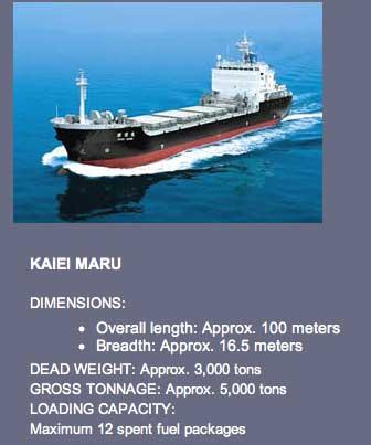 japan's nuclear ship transportation