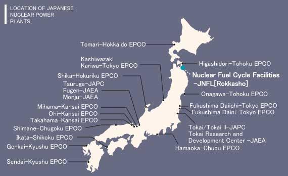 japan's nuclear reactors
