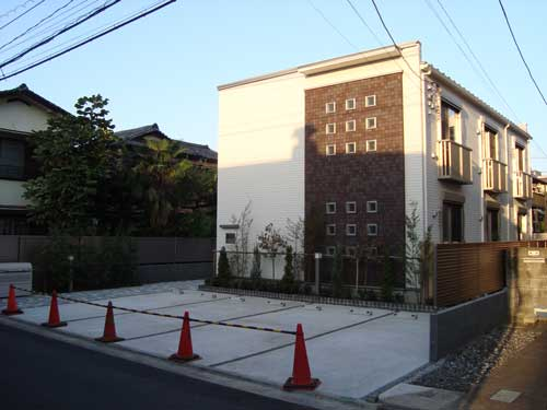 New construction in Nakano
