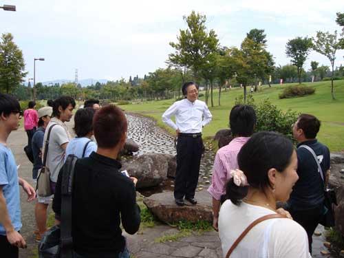 Professor Shinji, Nodai trip, New Greenpia