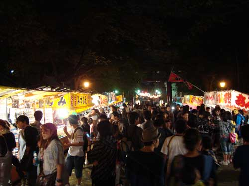 Night omatsuri