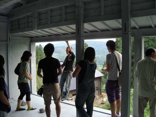 Niigata open, silver house