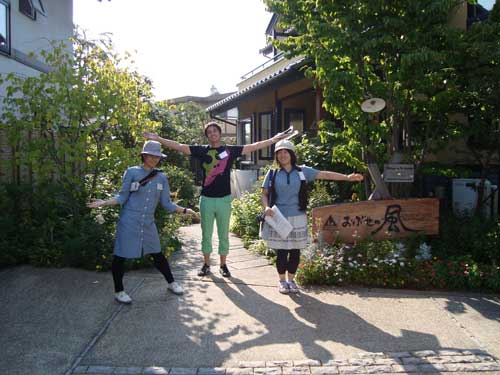Nodai students and Research Fellow visit Obuse Open Garden