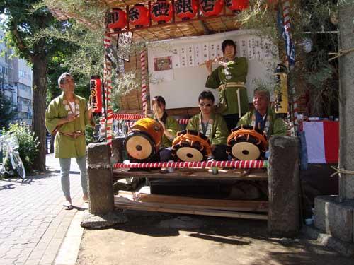 Omatsuri musicians
