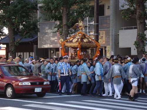 Omatsuri on main street