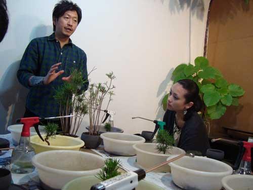 Kobayashi Kenji at Sinajina class
