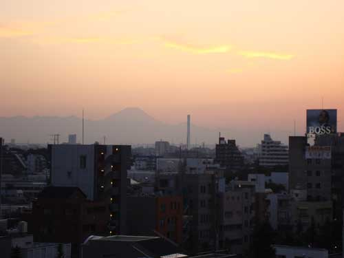 Views of Mount Fuji