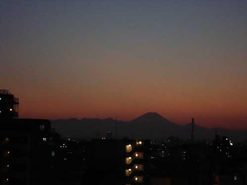 Views of Mount Fuji