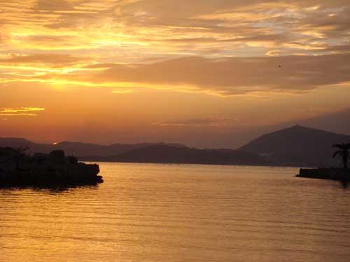 Inujima sunset