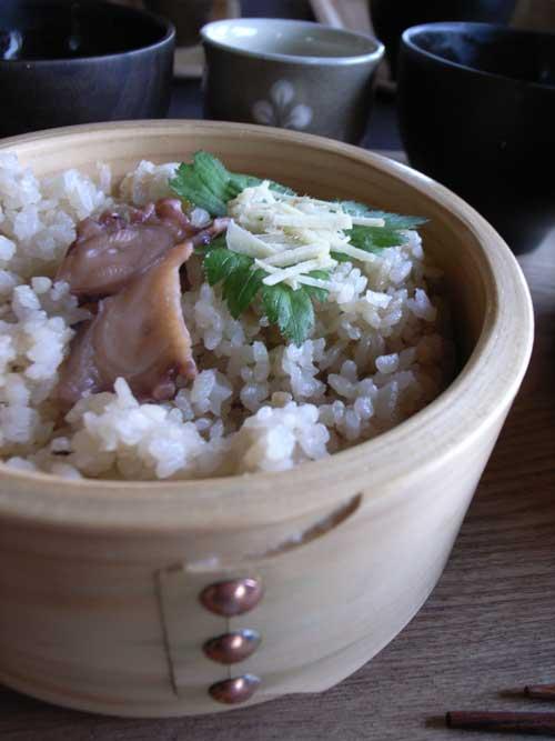 Inujima tako rice