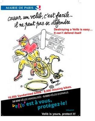 Velib poster