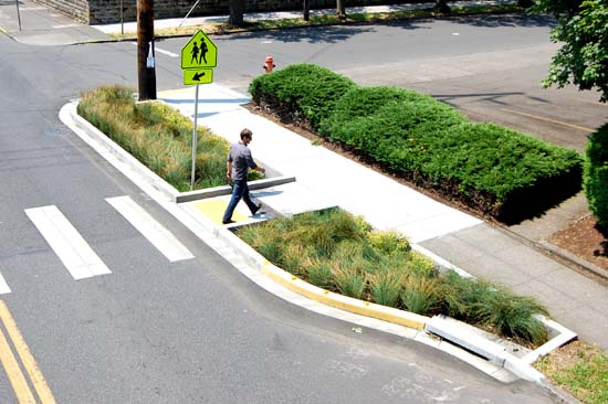 Portland S Greenstreets Add Plants And Reduce River