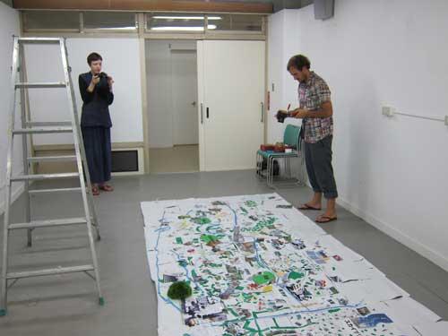Documenting Tokyo DIY Gardening workshop's green city map | Tokyo ...