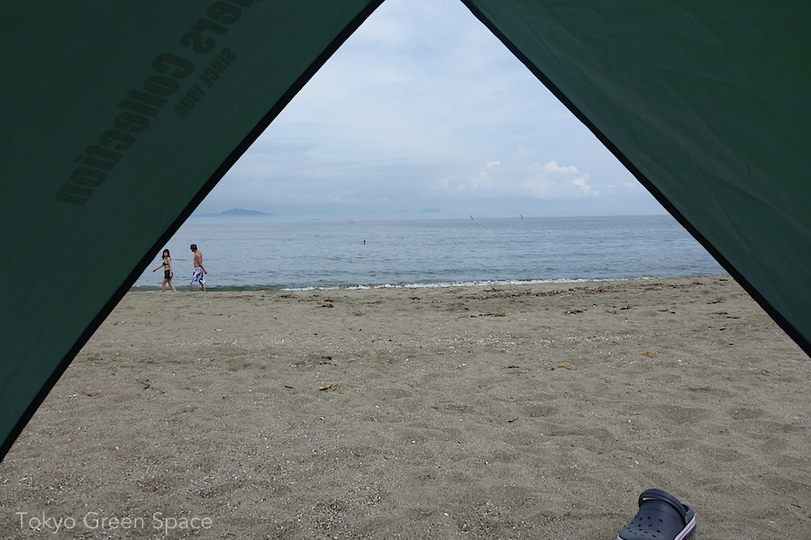 miura_kaigan_view_from_tent